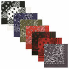 Bandanas - Extra Large 27' Trainmen Biker Headwrap Bandana -Red/Black,White,Blue