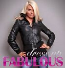 NEW SEXY WOMEN'S LADIES WARM LEATHER JACKET HOT CASUAL BLACK BIKER WEAR CLOTHES