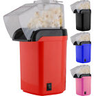 NEW ELECTRIC POPCORN MAKER FAT FREE 1200W MACHINE POPPER PARTY POP CORN PINK RED
