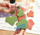 Korea Simulation Leaf Sticky Note Memo Pad Leaf-it Red Green