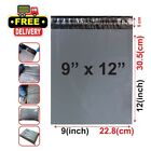 Grey Mailing Postal Postage Packaging Poly Plastic Strong Bags  9 x 12 Inches