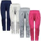GIRLS FASHIONABLE JODHPUR STYLE LEGGINGS POCKET AND PATCH TROUSERS 4-14 YEARS