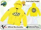 NEW OFFICIAL 2013 VALENTINO ROSSI VR/46 KIDS THE DOCTOR YELLOW CHILDS TOP HOODIE
