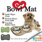 Comfy Pooch™ Doggie Bowl Mat By Home Dynamix™ Avail. In 3 Colors