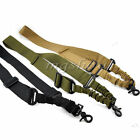 Tactical Sling Single Point Swivels Strap Multi Mission Adjustable For Rifle Gun