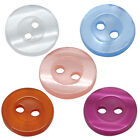 "300PCs Resin Sewing Buttons Scrapbooking 2 Holes Round  11mm(3/8"") M0878"