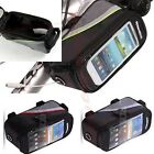 New Bicycle Cycling Bike Frame Pannier Front Tube Bag Case For Cell Phone