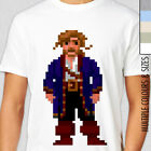 GUYBRUSH THREEPWOOD T-Shirt. Secret of Monkey Island. Pixelated Retro Rare Gamer