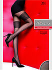Fiore Tullia Patterned Tights Mock Stockings 20 Denier