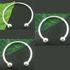 4 PCs Bangle Bracelets Silver Plated M1383