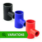 Silicone Hose T-Piece TPieces Tee - Silicon Joiner Pipe Rubber Coolant Radiator