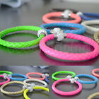 Wristband Cuff Punk Magnetic Jewelry Charm Buckle Bracelet Chain Bangle 12 Color