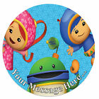 Team Umizoomi Personalised Edible Rice/Icing Cake Topper 7.5 inch Circle