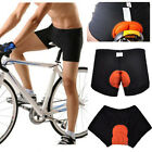 Men Women Unisex Cycling Underwear Gel 3D Padded Bike Bicycle Shorts Pants S-XXL