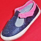 NEW Girl's Toddler's CARTER'S LES Blue/Pink Sparkle Fashion Casual  Shoes