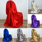 150 pcs Wholesale Lot SATIN UNIVERSAL CHAIR COVERS Weddin...