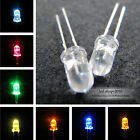 10-1000pcs 3mm 5mm Round top Multi Colour Water Clear Superbright LED lamp