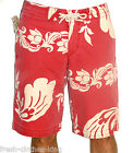 Ralph Lauren Denim & Supply Shorts New $59.50 Mens Red Floral Choose Size