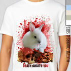 MONTY PYTHON KILLER RABBIT OF CAERBANNOG T-Shirt.  Bunny, Holy Grail, Dynamite