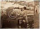 1909 CHILD LABOR PHOTO BIBB MILL LITTLE SPINNER GIRL MACON GA WORKERS