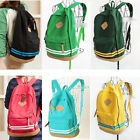 Fashion Unisex Girl Canvas Backpack Student School Bag Travel Rucksack Bookbag