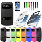 New Slim S-VIEW Flip Case Battery Cover For Samsung GALAXY SIII S3 I9300