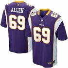 NFL Football Youth Minnesota Vikings Jared Allen # 69 Jersey