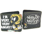 OFFICIAL LICENSED MARVIN THE MARTIAN MANS WALLET RETRO 80'S PURSE MEN