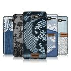 HEAD CASE DESIGNS JEANS AND LACE PROTECTIVE BACK CASE COVER FOR MOTOROLA RAZR D3