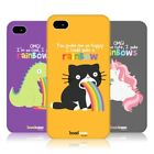 HEAD CASE DESIGNS RAINBOW PUKE PROTECTIVE BACK CASE COVER FOR APPLE iPHONE 4 4S