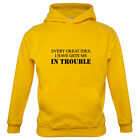 Every Great Idea I Have Gets Me In Trouble - Kids / Childrens Hoodie - Funny