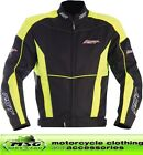 RST URBAN 1356 WATERPROOF ARMOUR TEXTILE SPORTS MOTORCYCLE JACKET YELLOW - SALE
