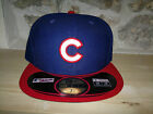NEW ERA Cappello 6 7/8 + 7 + 7 1/8 Chicago CUBS official 59FIFTY BASEBALL hiphop