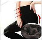New Women's Thick Warm Fleece lined Fur Winter Tight Pencil Leggings Sexy Pants