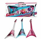 PINK BLUE WHITE CHILDRENS KIDS MUSICAL PERCUSSION STRING GUITAR INSTRUMENT TOY