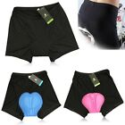 Cycling Bike Bicycle Underwear Short Pants 3D Silicone Padded Base Shorts Pants