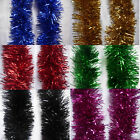 2M (6.5Ft)  Chunky Tinsel Chrismas Tree Decoration Garland 15 Colour