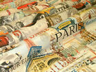 Around The World Classics Designer Curtain Upholstery Quality Cotton Fabric