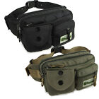 High quailty Men fashion nylon fanny pack cool waist bag belt bum Black / Green