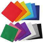 BANDANA Plain All Colors Vintage Fashionable Cotton Scarf Bandana