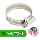 New GENUINE STAINLESS STEEL JUBILEE HOSE CLIPS JUBILEE CLIPS CORRSION RESISTANT