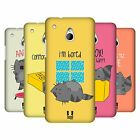 HEAD CASE DESIGNS WILBUR THE CAT PROTECTIVE BACK CASE COVER FOR HTC ONE MINI