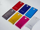 New Chrome Plated Back Battery Door Cover Case For Samsung Galaxy Note 3 N9000