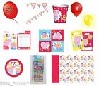PEPPA PIG Birthday Party tablewear decorations plates Stickers napkins lots more