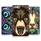 HEAD CASE DESIGNS AZTEC ANIMAL FACES CASE COVER FOR SONY XPERIA GO ST27i