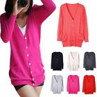 New Korean Knitwear Double Pocket Shell Button Long Section Cardigan Blouse Coat