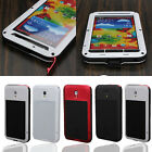 Aluminum Metal Water Shock Proof Gorilla Glass Case For Samsung Galaxy Note 3
