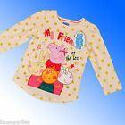 Girls Peppa Pig Top Age 2 3 4 5 6 Years * 1st Class Fast Despatch
