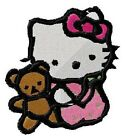 Embroidered Personalized Hello Kitty Bath Towels