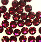 Ruby (501) Swarovski 2038/2028 6ss Flatbacks Hotfix Iron-on Rhinestones 2mm ss6